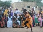 "women dancing at the village ""fête"""