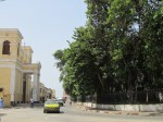 Saint Louis! The first church in Senegal is on the left.