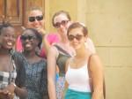 Fatou, Khady, Grace, Ellen and me
