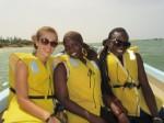 me, Khady and Fatou