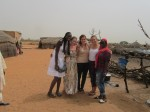 Fatou, Ellen, me, Grace, and Khady