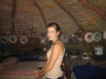 Inside another hut