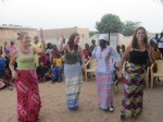 "dancing in the middle of a huge circle of people at a village ""fête"""