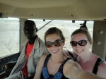 Me and Ellen and a CSS man in a tractor